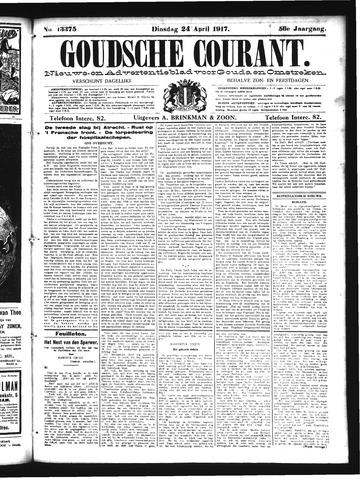 Goudsche Courant 1917-04-24