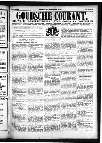 Goudsche Courant 1936-08-25