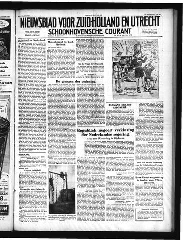 Schoonhovensche Courant 1950-01-27