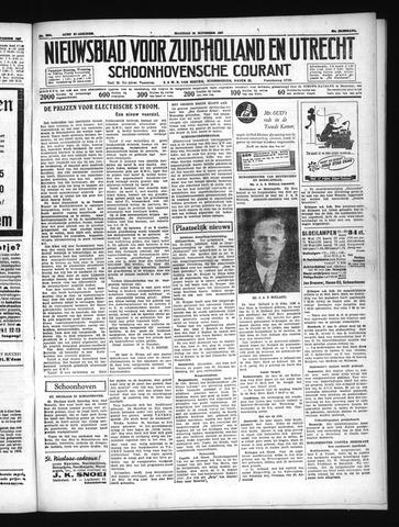 Schoonhovensche Courant 1937-11-22