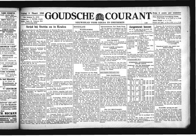 Goudsche Courant 1945-03-09