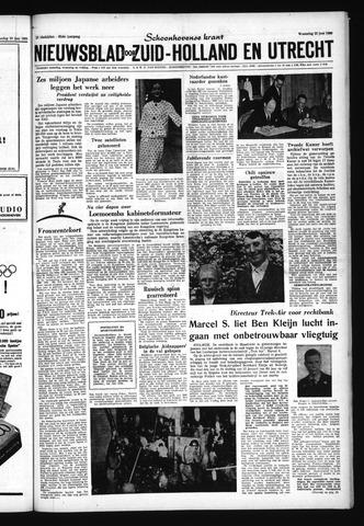 Schoonhovensche Courant 1960-06-22