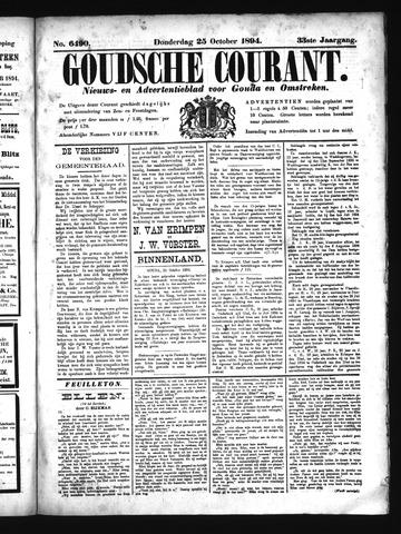 Goudsche Courant 1894-10-25