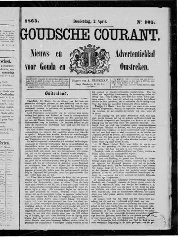 Goudsche Courant 1863-04-02