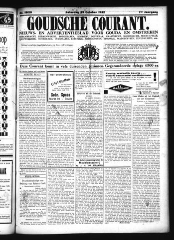 Goudsche Courant 1932-10-29