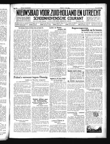 Schoonhovensche Courant 1939-07-07