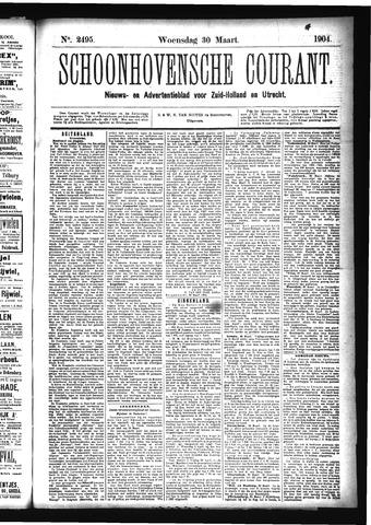 Schoonhovensche Courant 1904-03-30