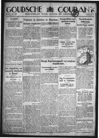 Goudsche Courant 1940-04-01