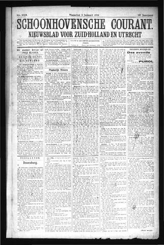 Schoonhovensche Courant 1927