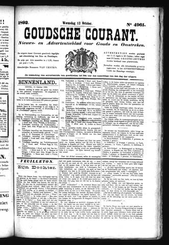 Goudsche Courant 1892-10-12