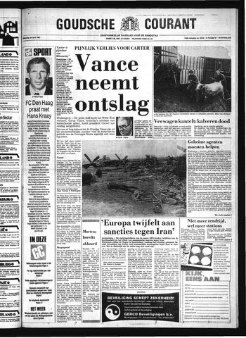 Goudsche Courant 1980-04-28