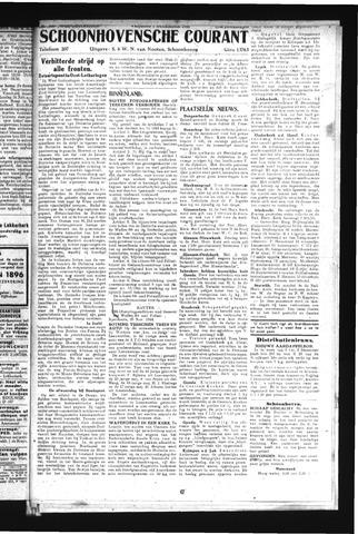 Schoonhovensche Courant 1944-12-01
