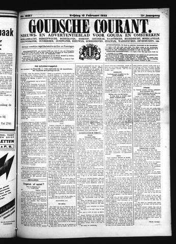 Goudsche Courant 1933-02-10