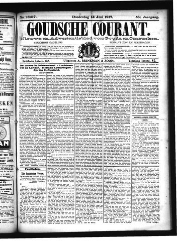 Goudsche Courant 1917-06-14