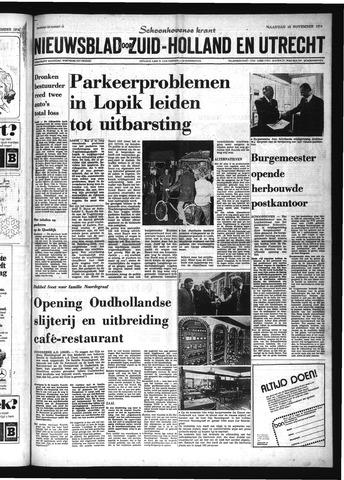 Schoonhovensche Courant 1974-11-18