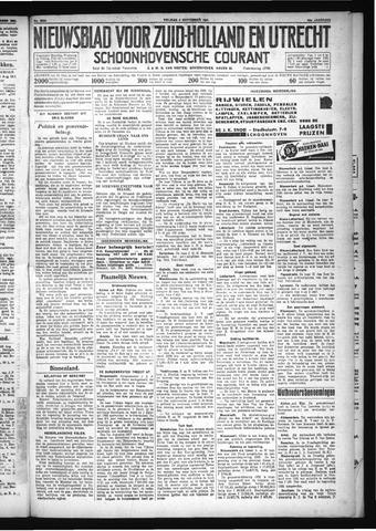 Schoonhovensche Courant 1931-09-04