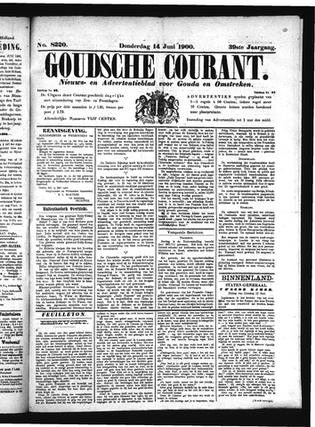 Goudsche Courant 1900-06-14