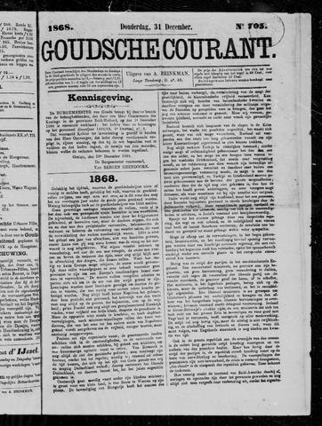 Goudsche Courant 1868-12-31