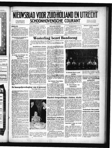 Schoonhovensche Courant 1950-01-23