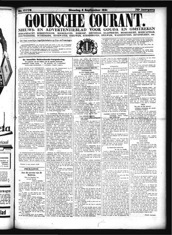 Goudsche Courant 1931-09-08