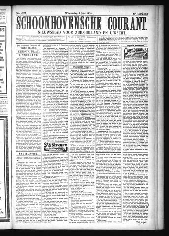 Schoonhovensche Courant 1925-06-03