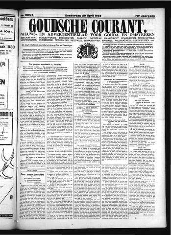 Goudsche Courant 1933-04-20
