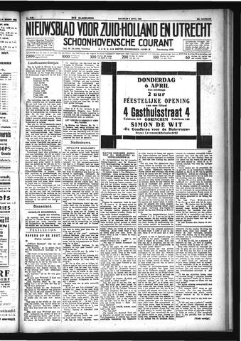 Schoonhovensche Courant 1933-04-03