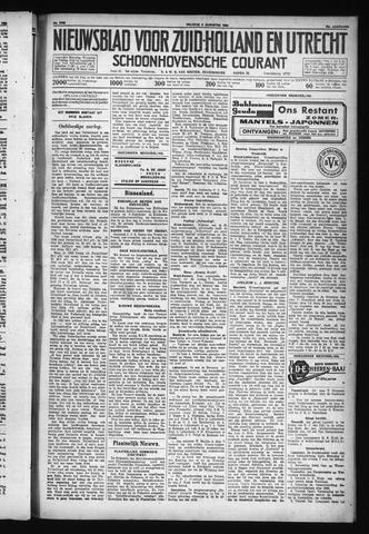 Schoonhovensche Courant 1930-08-08