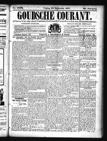 Goudsche Courant 1917-09-28