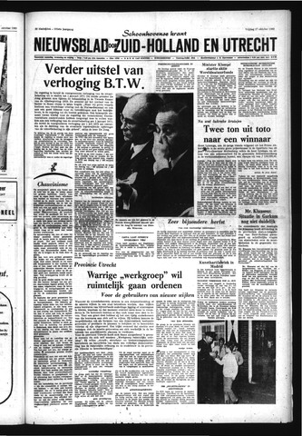 Schoonhovensche Courant 1969-10-17