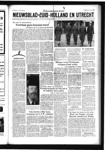 Schoonhovensche Courant 1959-01-21