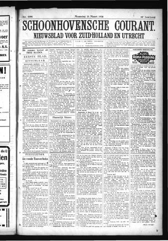 Schoonhovensche Courant 1926-03-15