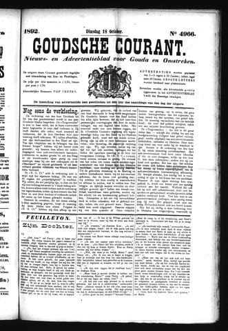 Goudsche Courant 1892-10-18