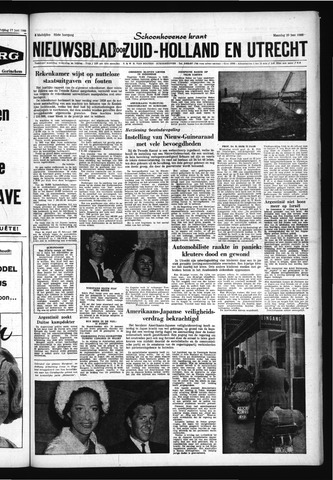 Schoonhovensche Courant 1960-06-20