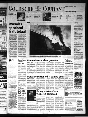 Goudsche Courant 2004-10-11