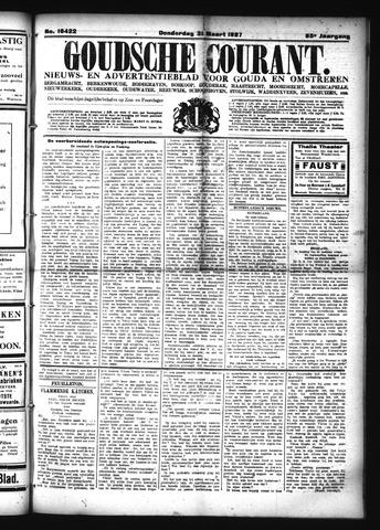 Goudsche Courant 1927-03-31