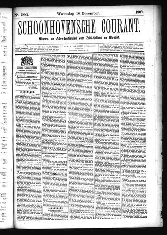 Schoonhovensche Courant 1907-12-18