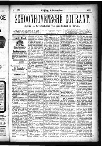 Schoonhovensche Courant 1915-12-03