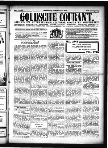Goudsche Courant 1931-02-11