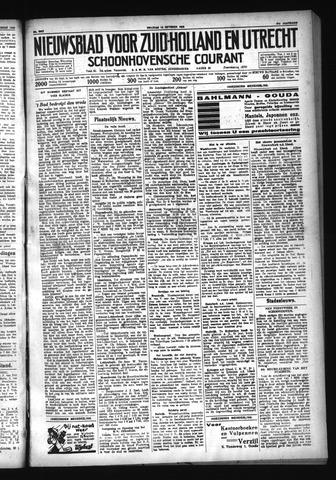 Schoonhovensche Courant 1929-10-18