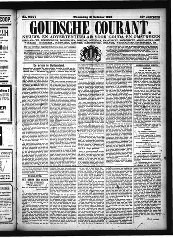 Goudsche Courant 1923-10-31