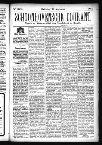 Schoonhovensche Courant 1914-08-29