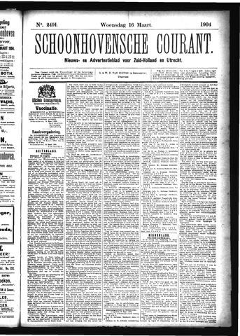 Schoonhovensche Courant 1904-03-16