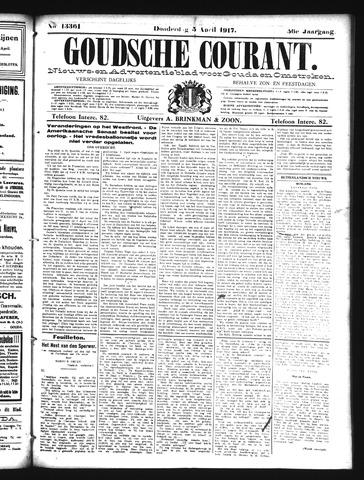 Goudsche Courant 1917-04-05