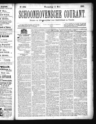 Schoonhovensche Courant 1892-05-11
