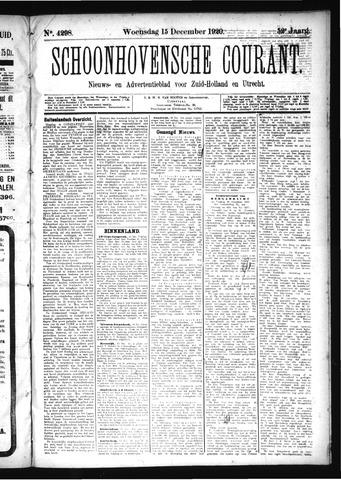 Schoonhovensche Courant 1920-12-15