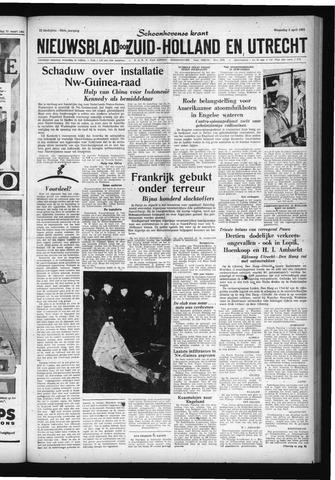 Schoonhovensche Courant 1961-04-05