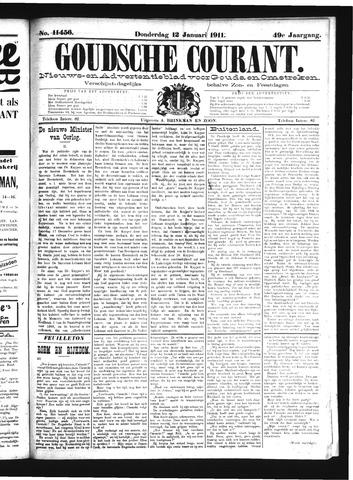 Goudsche Courant 1911-01-12