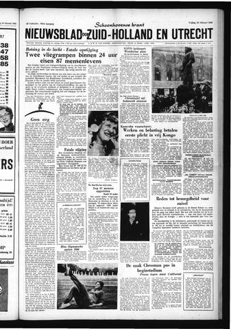 Schoonhovensche Courant 1960-02-26