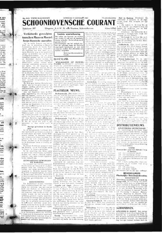 Schoonhovensche Courant 1945-01-09